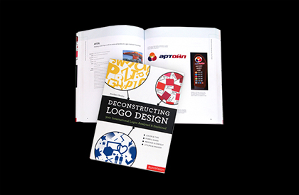 Matthew Healey has just written the latest book on design to be published by Rotovision. The book entitled Deconstructing Logo Design follows a number of other books from the same publisher on the intriguing subject of logos.