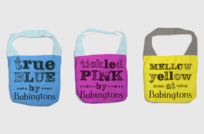 Babingtons | Minale Tattersfield Design Strategy Group