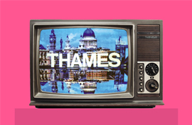 Thames Television - The first 'moving' ident.