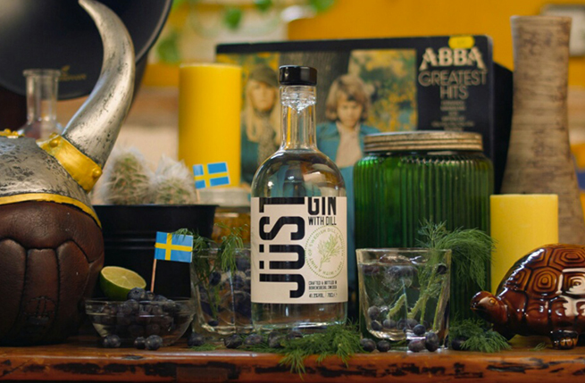 Just Gin with dill