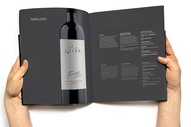 Bottle magazine luisa