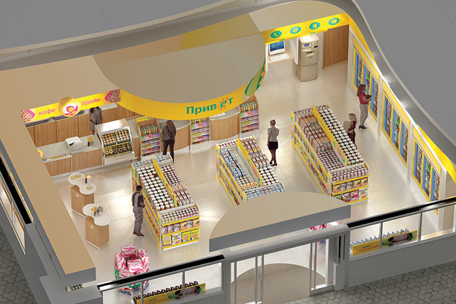 pics for gt modern convenience store design - Convenience Store Design Ideas