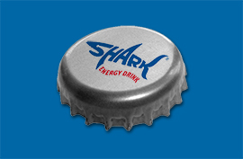 Shark's energy pulses through the brand and the name. Recognisable in any language, it's the drink that keeps you going.
