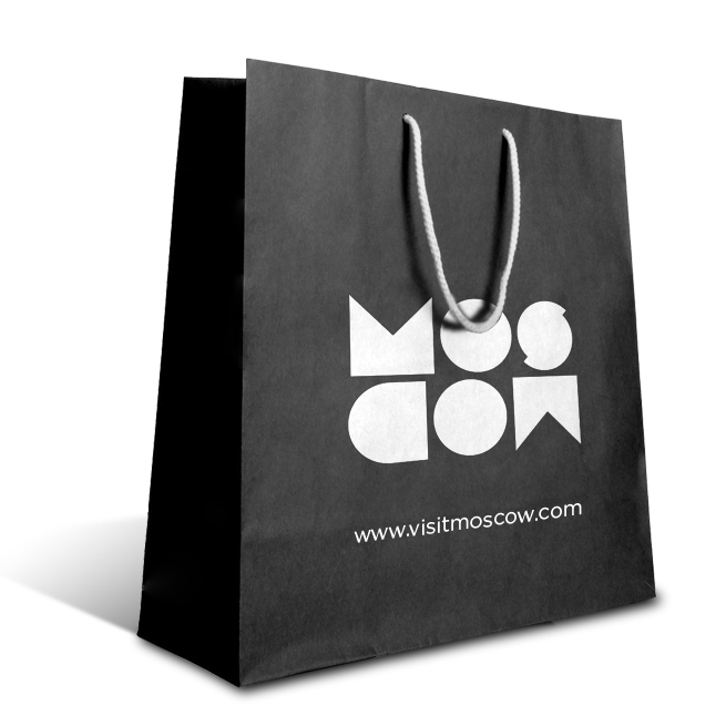 moscow shopping bag