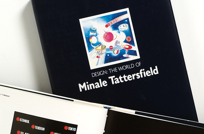The world of Minale Tattersfield was the fifth in a series of books written to explain the Minale Tattersfield design process and philosophy.
